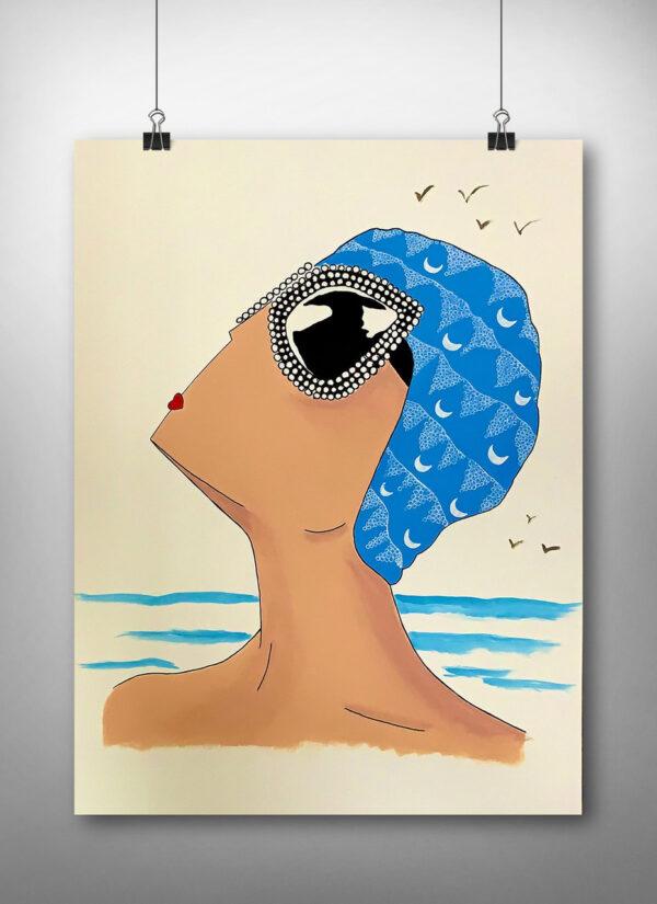 Nadadora Selfa Verano